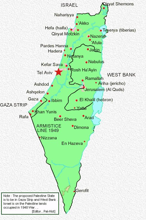 The invented history of Palestine